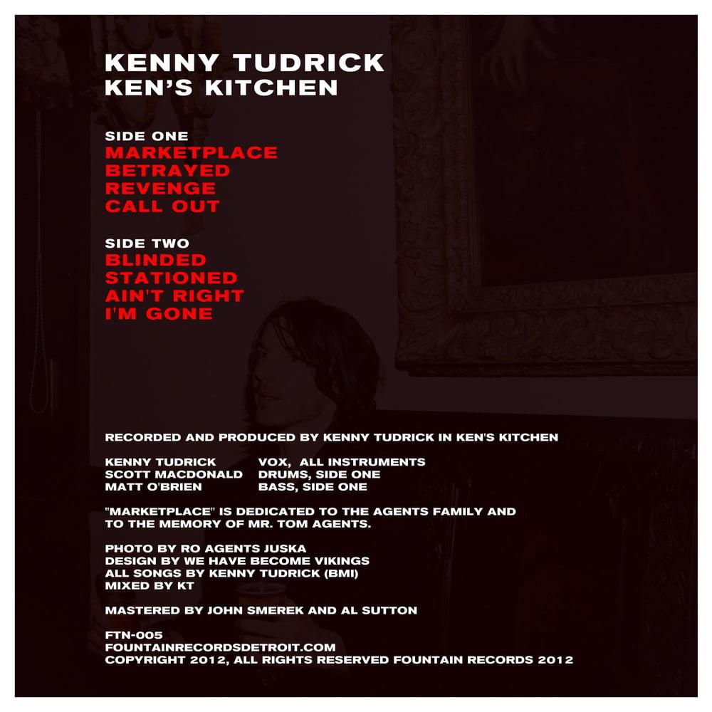 "Image of FTN-005 - Kenny Tudrick - ""Ken's Kitchen"" LP (SOLD OUT)"