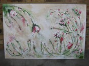 Image of Custom Floral Painting