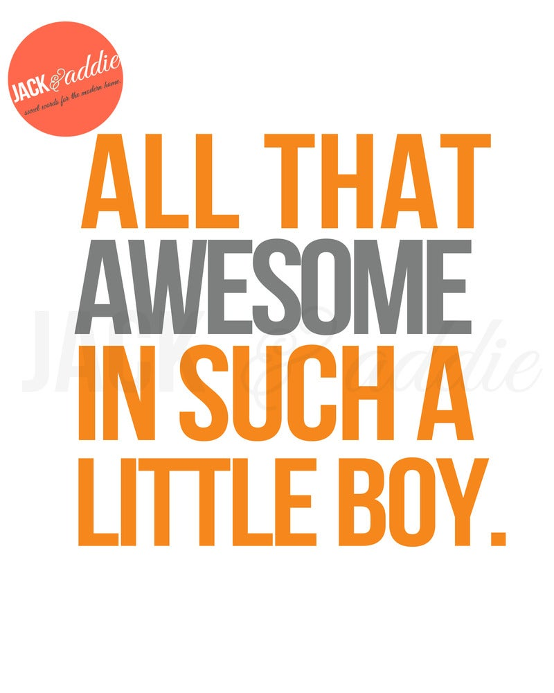 {all That Awesome} 8x10 PDF Download Poster