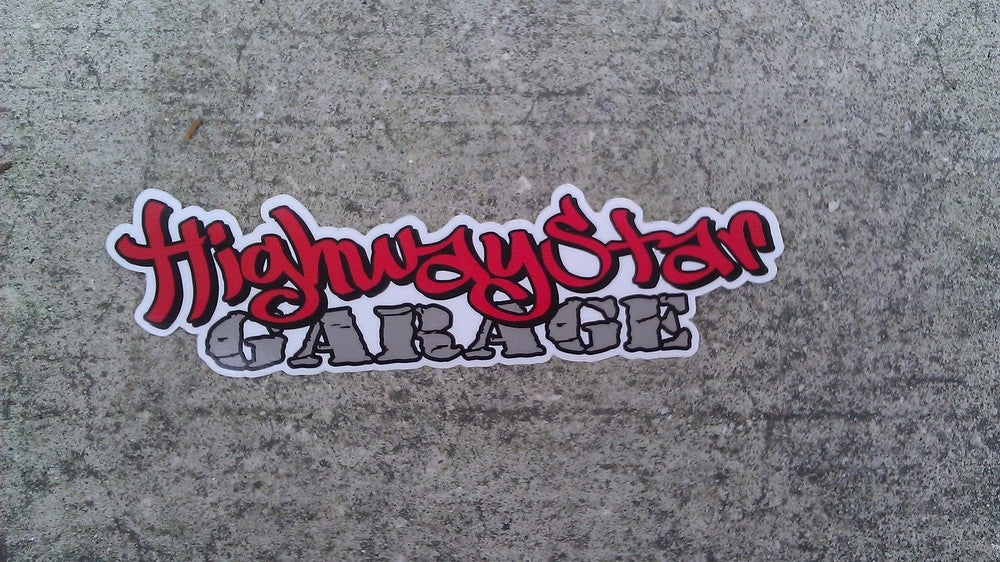 "Image of HSG 5"" Printed Mini Banner"