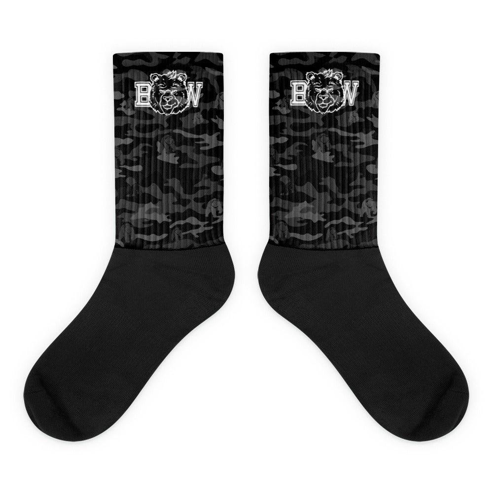 Image of BW Black Camo Socks