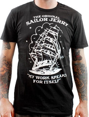 Image of Sailor Jerry Men's T-shirt - Homeward Bound