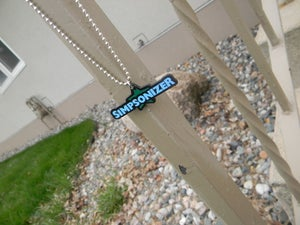 Image of Blue/Green - Simpsonizer Necklace - Cody Simpson