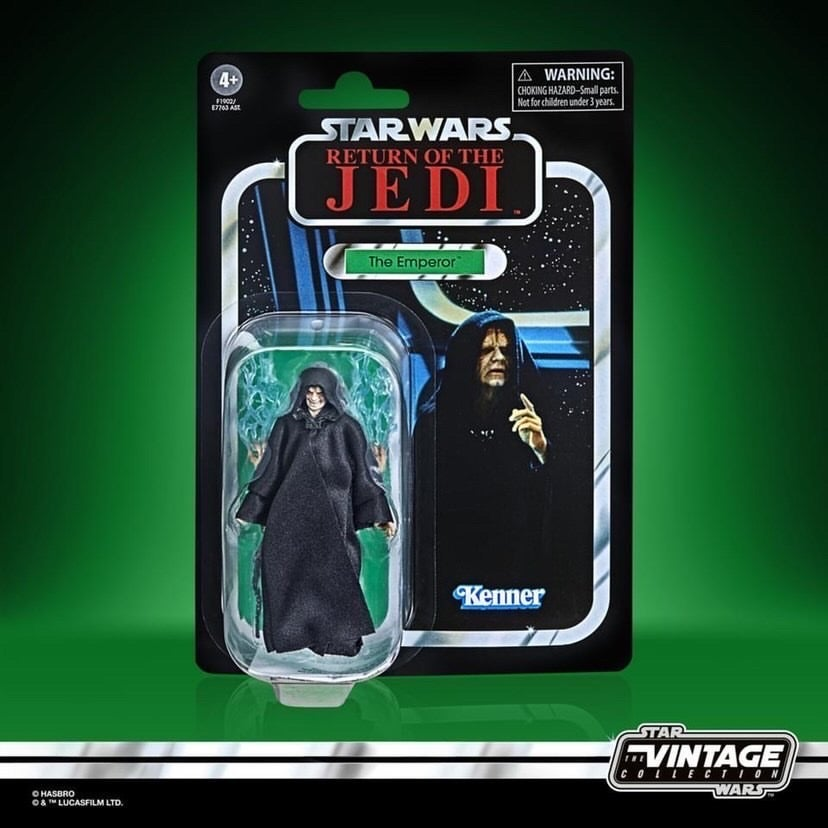 Image of Star Wars The Vintage Collection Emperor Palpatine