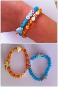 Image of Ice cream 'yum' charm bracelet