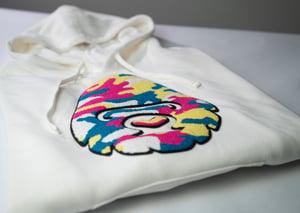 Image of Kosher Gorilla Shorts & Hoodie (White)
