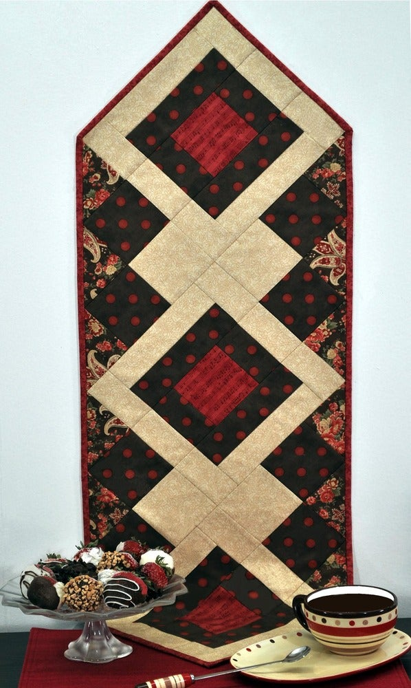 Image of Fat Quarter Table Runner VI - Pattern Q116 PDF pattern