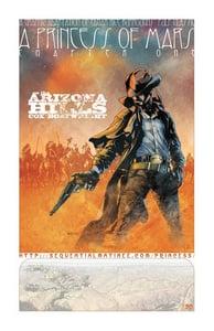 "Image of ""On The Arizona Hills"" Limited Edition Art Print"