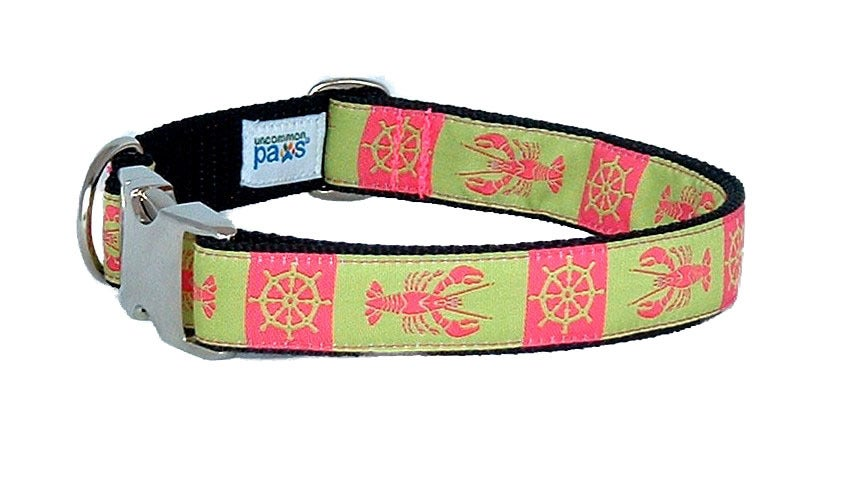Maine Lady Lobster Dog Collar