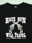 Image of HGWT Guns logo (black): Men's & Women's sizes.