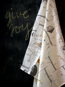 Image of GIVE JOY Fabric Gift Wrap