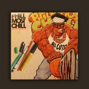Image of DWG008 - Phill Most Chill 'All Cuts Recorded Raw' LP