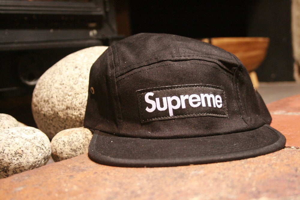 Outcastonline — Supreme Five Panel Hat black 47d6060765a