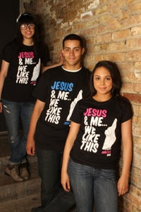 Image of Jesus & Me...We Like This (Unisex)