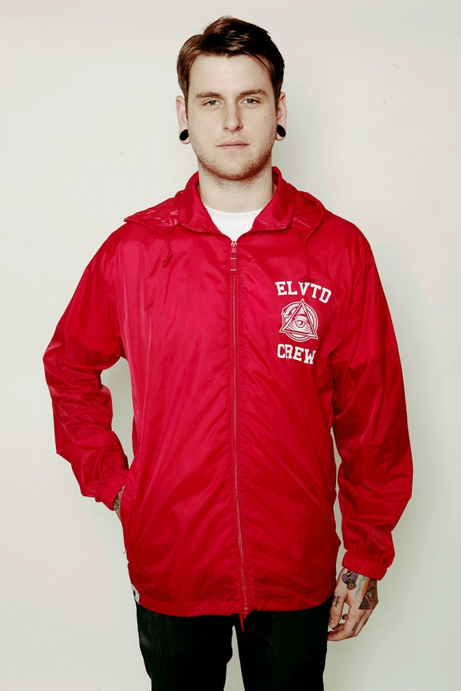 Image of RED EEWTC WINDBREAKER
