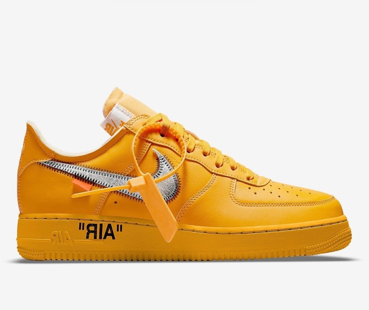 """Image of Nike Air Force One x Off white """"lemonade """""""