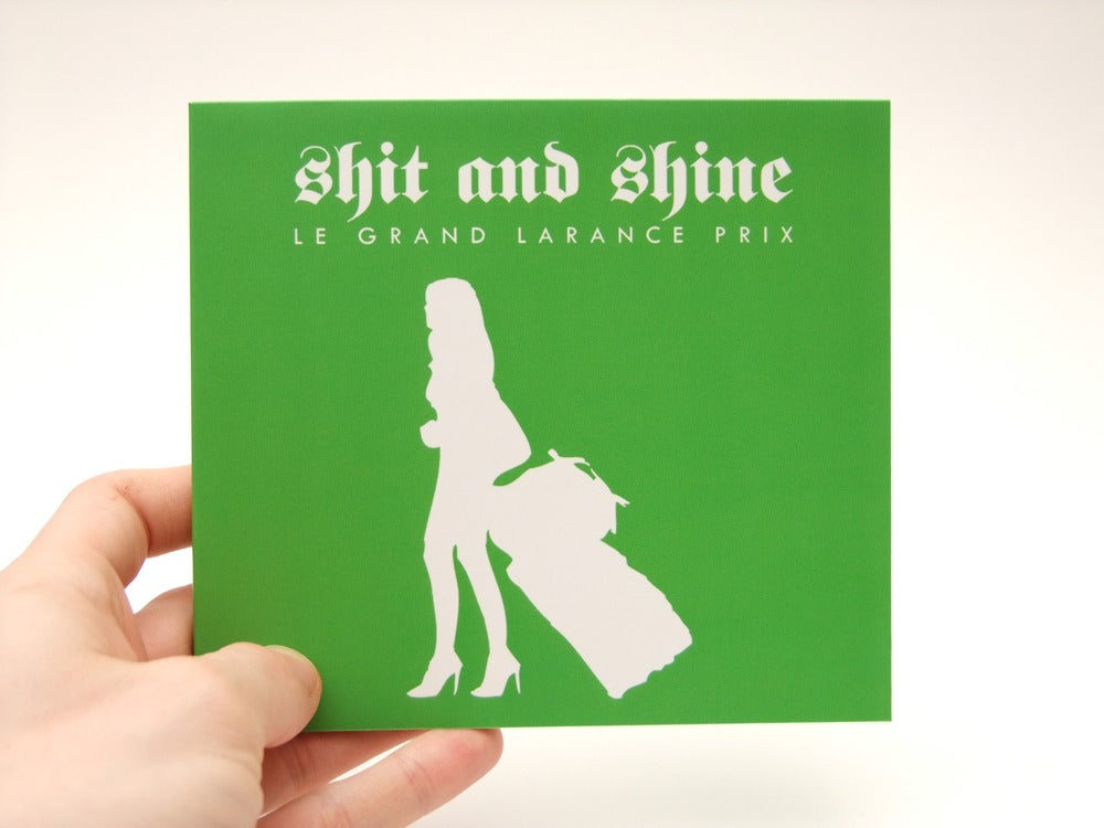SHIT AND SHINE 'Le Grand Larance Prix' Limited Edition 250 Only CD