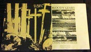 Image of Bloody Gears - 'Landscapes of Disease' LP