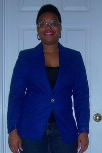 Image of Royal Blue Blazer sz 10
