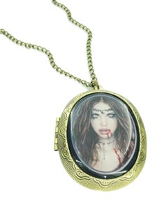 Image of Vampire Girl Locket