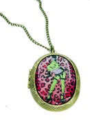 Image of Zombie Pin-up Locket