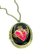Image of Flaming Heart Locket