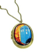 Image of Steampunk Tardis Locket