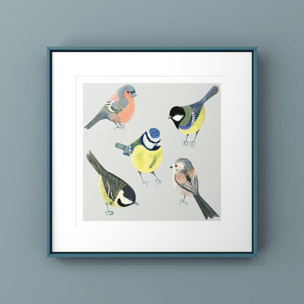 The Garden Birds Limited Edition Print