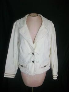 Image of Lane Bryant Cream Blazer Size 14/16
