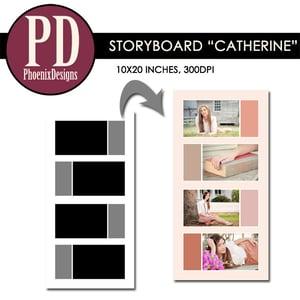 "Image of Storyboard ""Catherine"" - 10x20"
