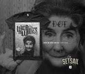 Image of When We Were Wolves - Dot Cotton tee