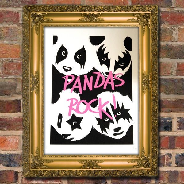 Image of PANDAS ROCK by Pure Evil