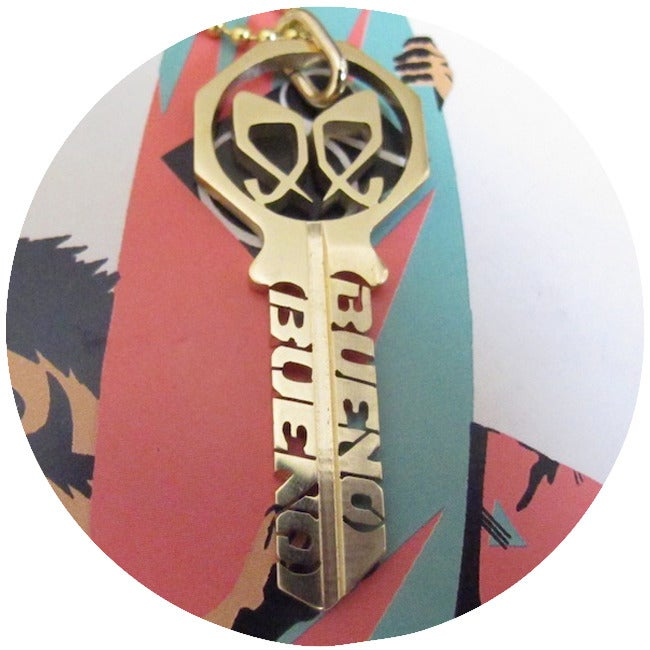 Image of KEY NECKLACE: BUENO BUENO