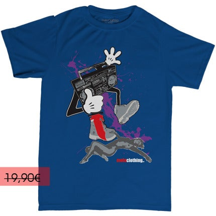 MeloClöthing Online Store — RADIO STAR - Bleu - Homme (T-shirt) e42eace19d5