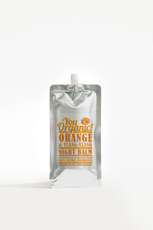 Image of YouOrganic Orange & Ylang Ylang Night Balm   Handmade In Ireland   100% Natural Skincare