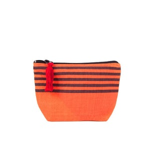 Image of Small Tassel Bag Melon/Dark Chocolate
