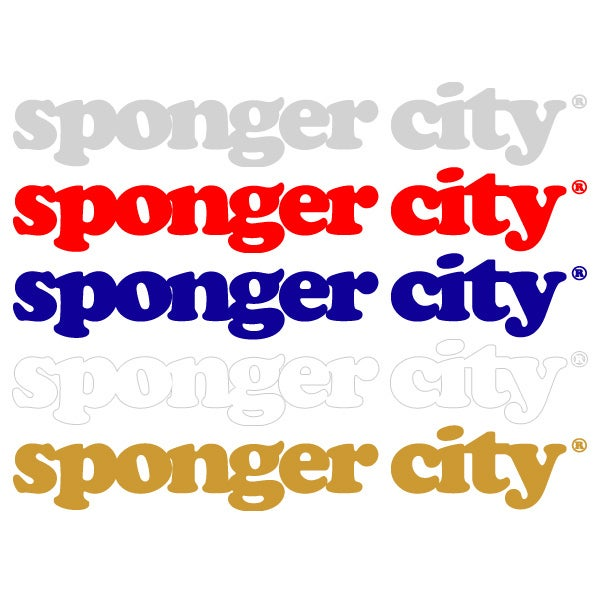 Image of Spongercity - Stickers