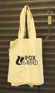Image of Fox & Bird Tote Bag