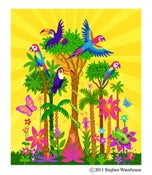 Image of Example Print - 'The Amazon Rainforest'