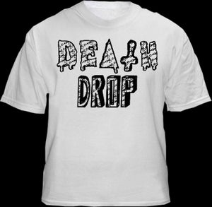 Image of Death Drop White Logo