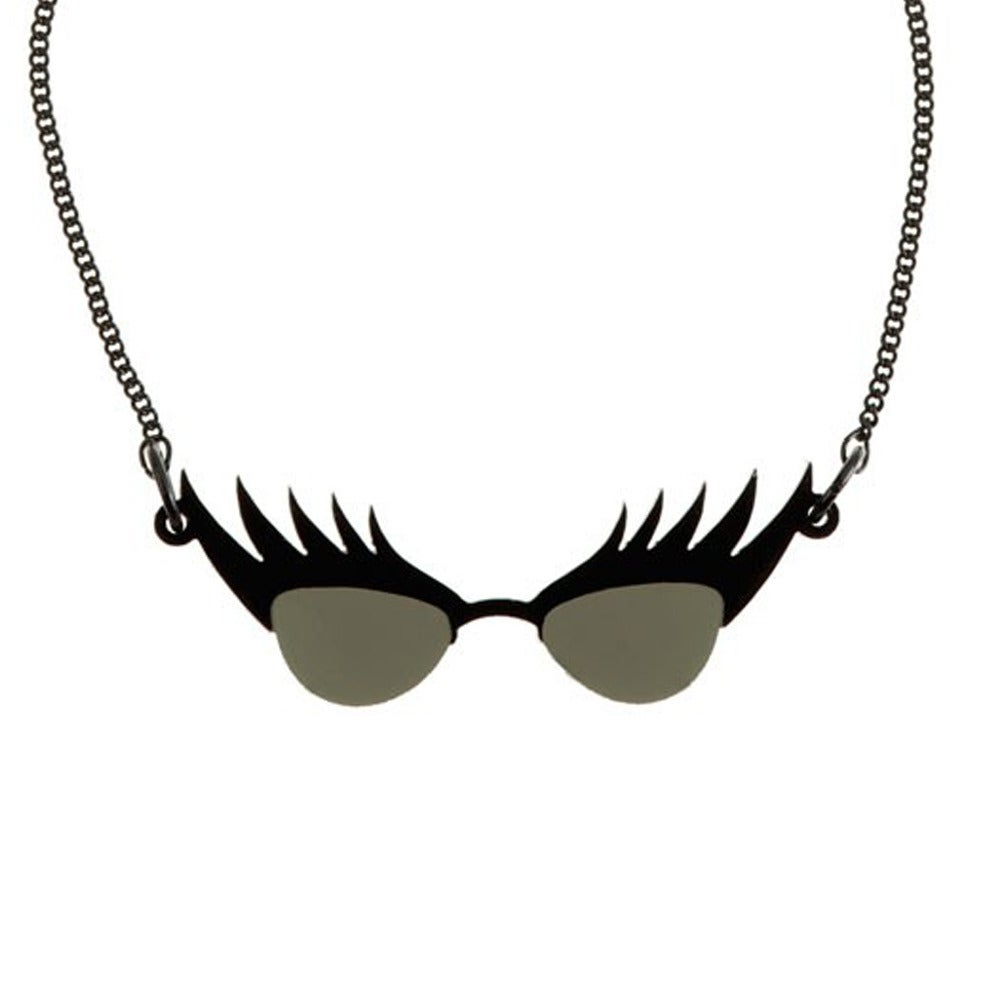 Collier eyelash sunglasses - Tatty devine