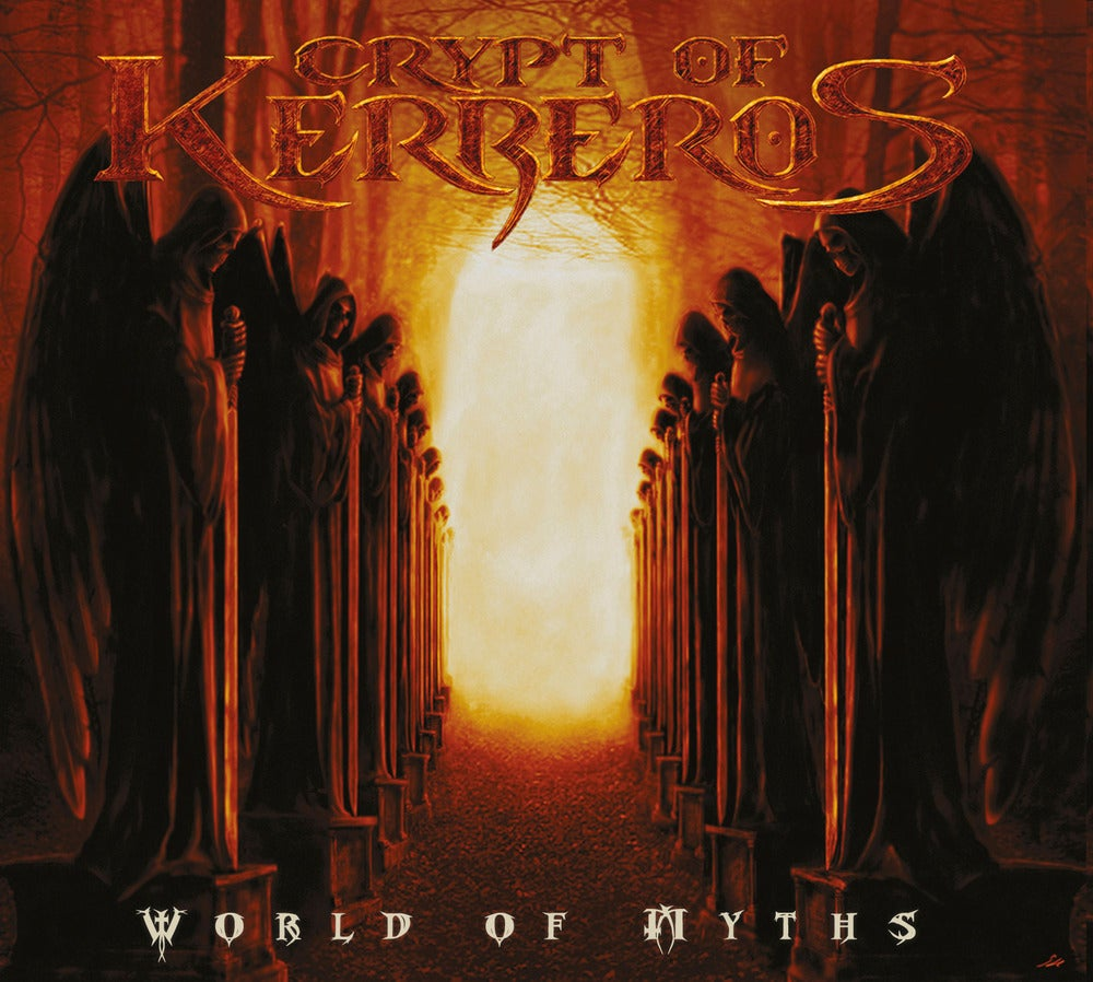 "CRYPT OF KERBEROS ""World Of Myths"" Digipak CD"