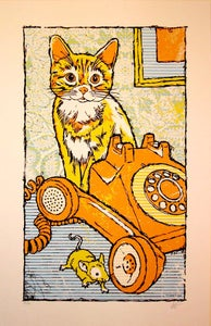 Image of Kitty, Mouse and Phone by Gregg Gordon