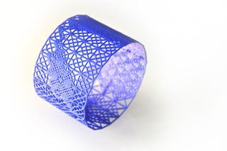 Image of 3d dentelle/lace bracelet