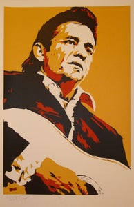 Image of Johnny Cash by Billy Perkins