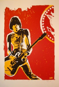 Image of Johnny Ramone by Billy Perkins