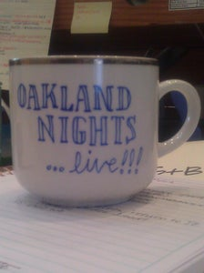 Image of Oakland Nights...live! mug