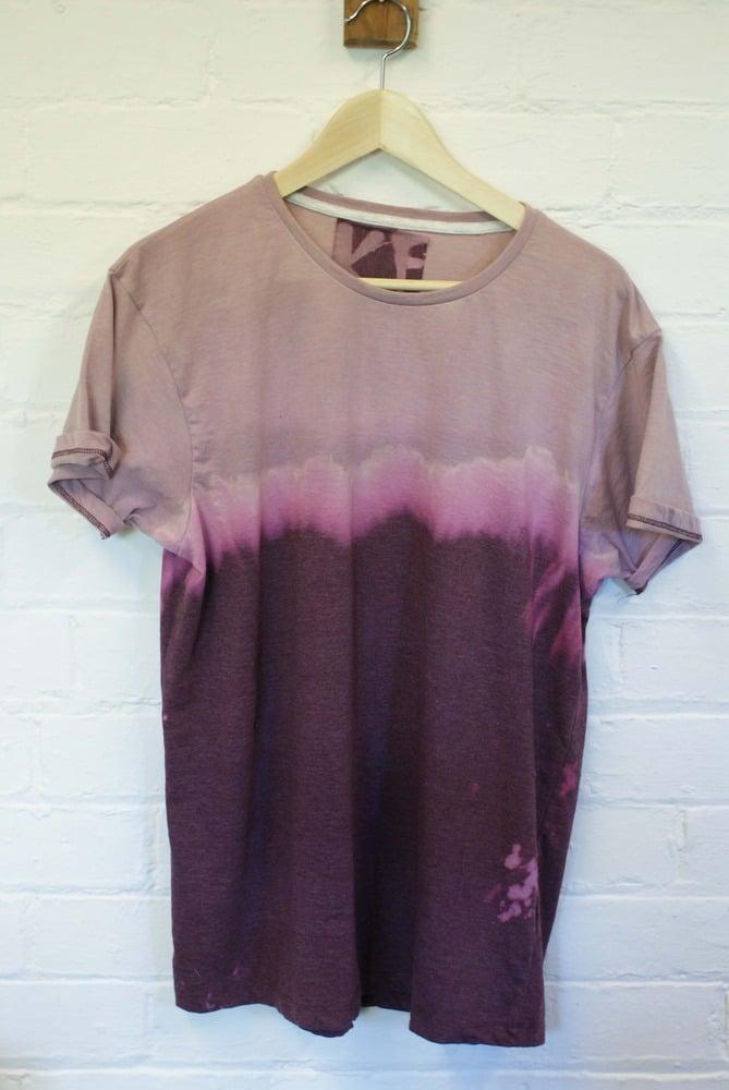 Image of Dip-dye tie-dye t-shirt