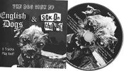 Image of Dog Sick EP. English Dogs & Sick On The Bus split release CDEP 2012