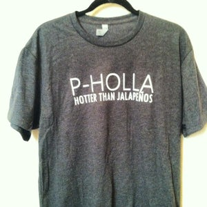 Image of Charcoal P-Holla Shirt